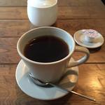 しまうまカフェ - しまうまブレンド珈琲。カップがかわいい