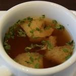 トラットリア ヒューメ - プチスープ