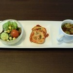 トラットリア ヒューメ - 前菜3品