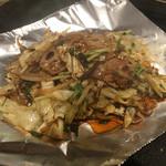 鉄板焼 キュウゾウ - 旬野菜の炒め
