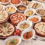 イタリアン バイキング モルトモルト - サラダ・パスタ・ピッツァ・スープ・温かなお料理が食べ放題!