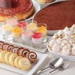 イタリアン バイキング モルトモルト - 全て手作りのこだわりデザートを各種ご用意しています!