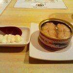 月島 鶴ちゃん - 「鮭缶」開けてみた。