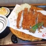 二代目 勝烈亭 - ロースカツ定食(単品・ご飯無し)