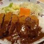 洋食屋 双平 - ビーフカツドビー(1,200円,サラダ付き)