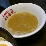 麺屋 導楽 - つけ汁(2016.1)
