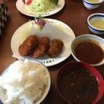 46975077 - 名代ヒレかつ定食&ハンバーグステーキ定食