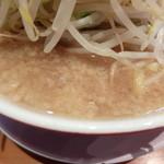 らーめん男盛 - スープ