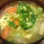 居酒屋 たぬき - テールスープ