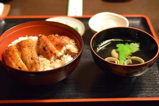 阿み彦 - うなぎ丼の「松」