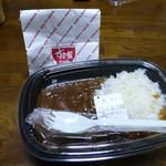すき家 - カレー弁当+唐揚げ