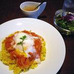 Kado - ランチ:イタリアの丼 750円