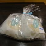 嘉福堂 - 料理写真:はこだて雪んこ2個入り400円