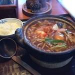 46980913 - ピリ辛キムチ+ご飯(小)