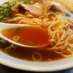 らあめん花月嵐 - 【期間限定】広島尾道ラーメン 麺&汁 アップ