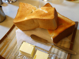 純喫茶ヒロ - バタートースト