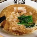 46985354 - 焦がし荒煮干しらぁ麺780円。