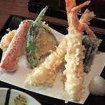 46987591 - 天せいろの天ぷら
