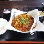 46989052 - 麻婆豆腐定食