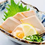贔屓屋 - あん肝ポン酢 ¥490+税