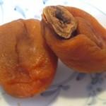 んめ~べ - 料理写真:「あんぽ柿(¥410)」アップ