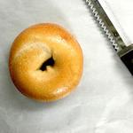 まるなかベーグル - 料理写真:プレーンベーグル