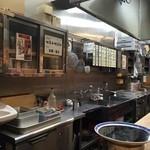 上野屋 - 厨房