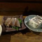 おもろ - 刺身とスクガラス豆腐