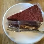 ピースコーヒー - チョコレートケーキ