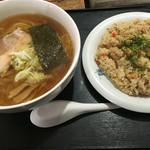 御食事処 山の五代 - ラーメン&ミニチャーハンセット¥880