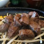 ますだや - 熊野牛サイコロステーキ定食