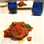Restaurant  LA FUENTE - 仔羊チリンドロンソース✨