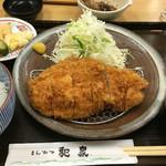 とんかつ和泉 - ランチ限定サービスロースカツ定食
