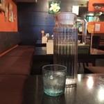 kanakoのスープカレー屋さん - アルカリ水なのですとか。