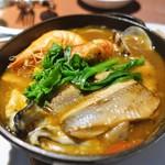 中目黒 Bistro Bolero - 魚貝たっぷりコトリヤード(リゾット付き)