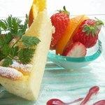 ベイクド・ニューヨークチーズケーキ