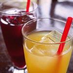 バレンシア館 - 自家製甘夏ジュース、ぶどうジュース
