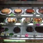 アロハ洋菓子店 - ショーケース