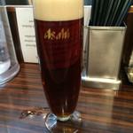 AFURI - 680円のビール、高いよね!