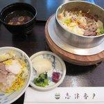 志津香 - 奈良特産「大和肉鶏 釜めし」1,155円