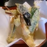 天久 - 和定食の天ぷら