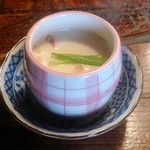 天久 - 天ぷら定食の茶わん蒸し