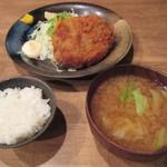 もり達 - メンチカツ定食