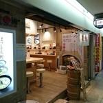 麺乃國 味噌物語 - 大阪駅前第3ビルB2Fにあるお店の外観