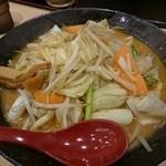 麺乃國 味噌物語 - 北海道百年味噌野菜ラーメン