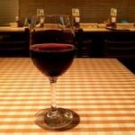スパゲッティ食堂DONA 京王クラウン街聖蹟桜ヶ丘店 - グラスワイン