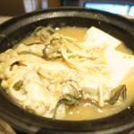 47004335 - 牡蠣の越後味噌バター仕立て