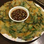 韓国田舎家庭料理 東光 - チジミ