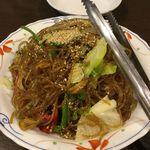 韓国田舎家庭料理 東光 - チャプチェ