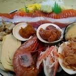 みゆきちゃん定食 - 海鮮丼スペシャル